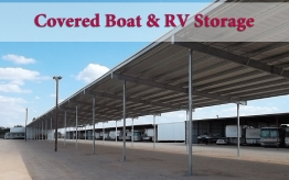 Covered Boat & RV
